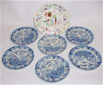 Oriental Style Antique Davenport Porcelain Dishes