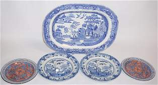 Collection Oriental Style Davenport Porcelain Piec