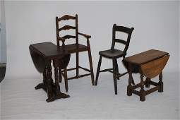 Collection Antique British Youth Furniture