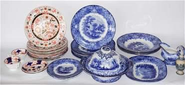 Collection Antique British Ironstone Dinnerware