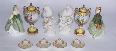 Collection Continental & English PorcelainArticles