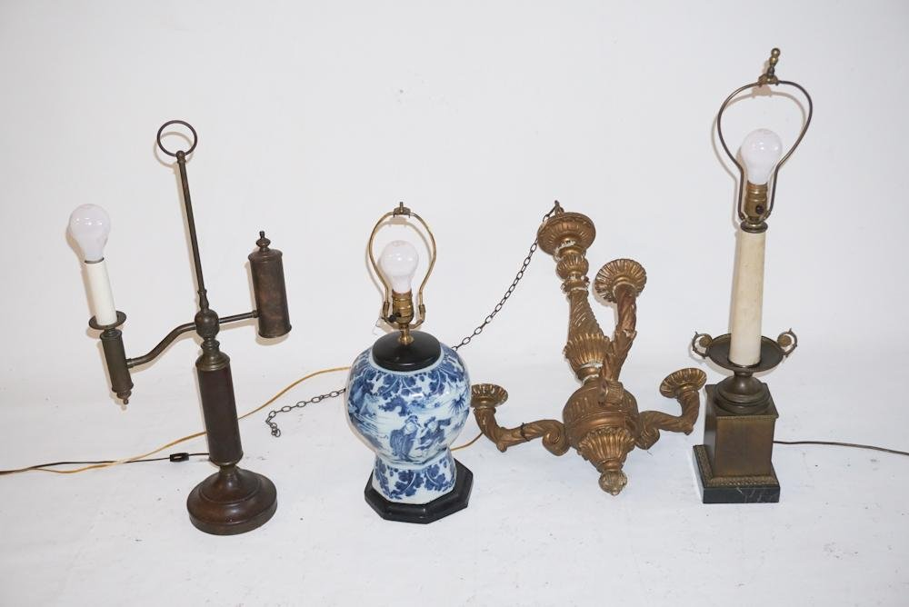Collection Antique & Vintage Lighting Pieces