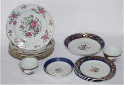 Two Sets Antique English Porcelain & Pearlware
