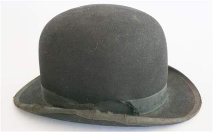 "Derby Hat Worn by Robert Redford in ""Butch Cassidy"""