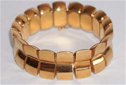 Very Fine 18k Gold Bracelet by Armin Kurz