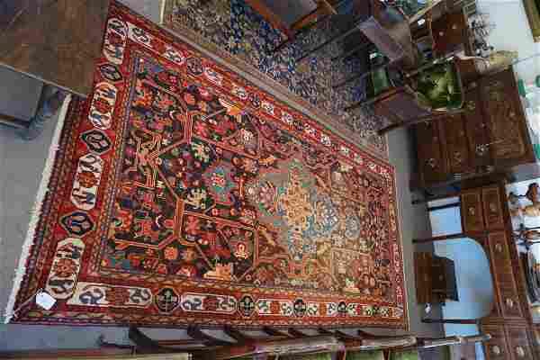 Vintage Persian Tribal Carpet