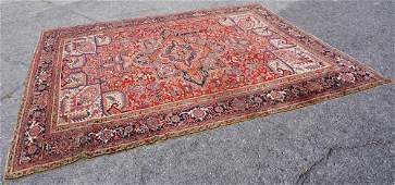 Very Fine Antique Persian Heriz Carpet
