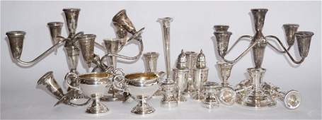 Collection Various Weighted Sterling Pieces