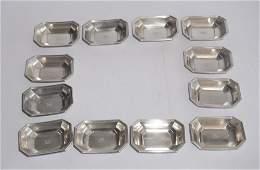 Set Gorham Sterling Silver Sauce Bowls