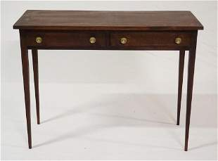 Quality Federal Style Serving Table by Joe Mazurek