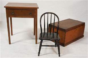 Group American Antique Country Furniture