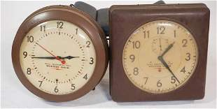 Western Union Naval Observatory Time Wall Clocks