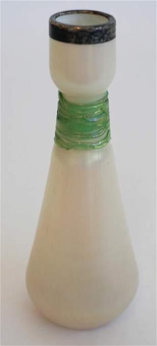 Art Nouveau Blown Glass Vase