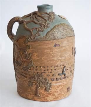 Southern Stoneware Jug by Judy Touchstone