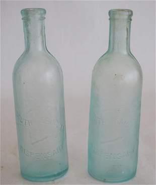Antique South Carolina Dispensary Bottles