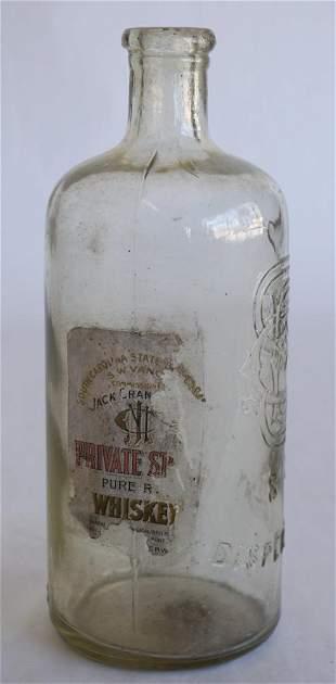 Paper Label South Carolina Dispensary Bottle