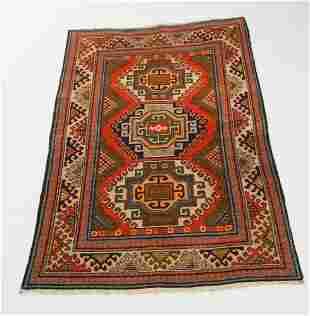 Vintage Persian Tribal Malayar Carpet