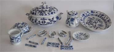 Collection German Meissen Porcelain Dinnerware