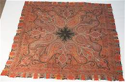 Very Fine Hand Made Antique Indian Shawl