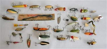 Collection Vintage Fishing Lures & Reels