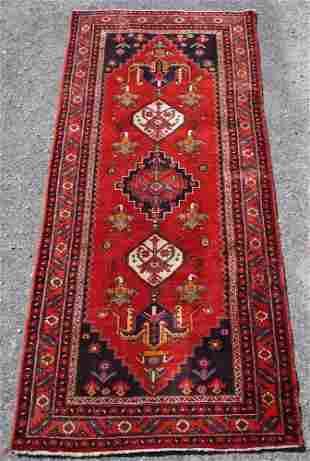 Fine Vintage Persian Tribal Runner Carpet