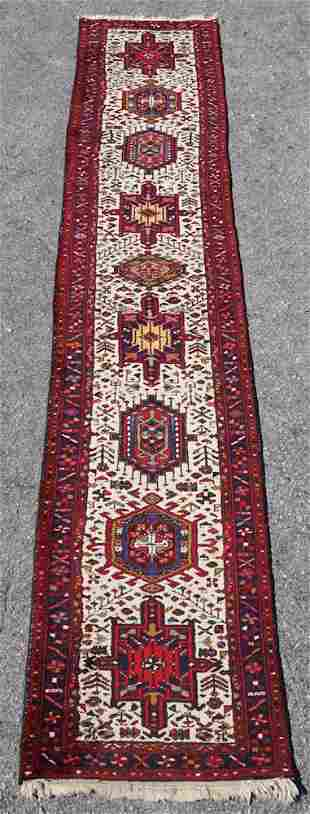 Vintage Persian Tribal Runner Carpet