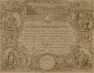 1810 Society Document Charleston, South Carolina