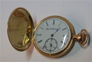 Fine Elgin 14k Gold Pocket Watch