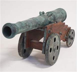Vintage Hungarian Full Scale Ornamental Cannon