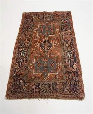 Antique Persian Tribal Carpet
