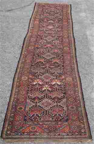 Fine & Long Antique Persian Tribal Runner Carpet