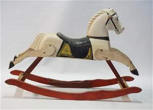 Vintage Toy Rocking Horse by Rich Toys