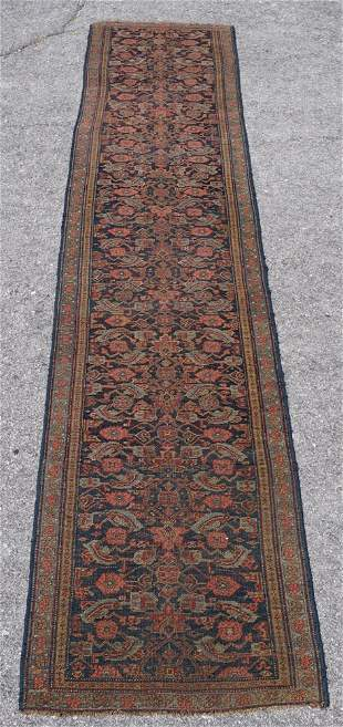 Handsome Antique Persian Tribal Runner Carpet