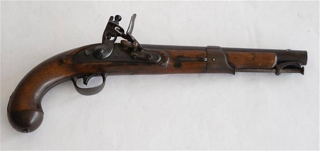 1822 S. North FlintLock Military Pistol