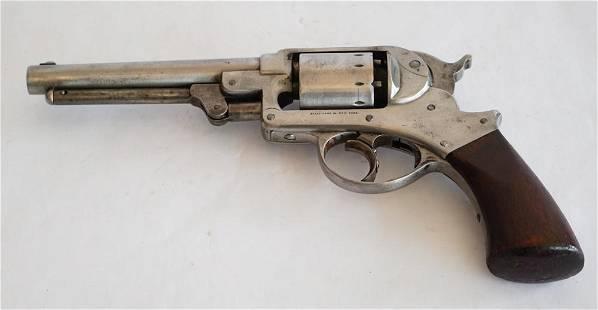 Antique StarArms 44 DA Caliber Percussion Revolver