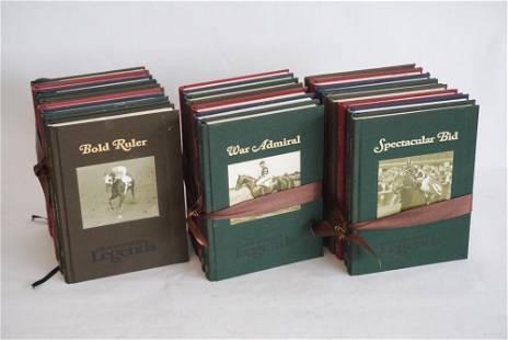 Original 24 Volume Set of Thoroughbred Legends