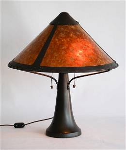 Arts & Crafts Style Lamp by Micalamp Company