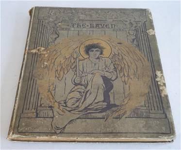 1884 Volume The Raven by Edgar Allen Poe