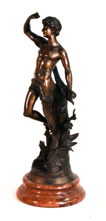Continental bronze figure, after Jarbel
