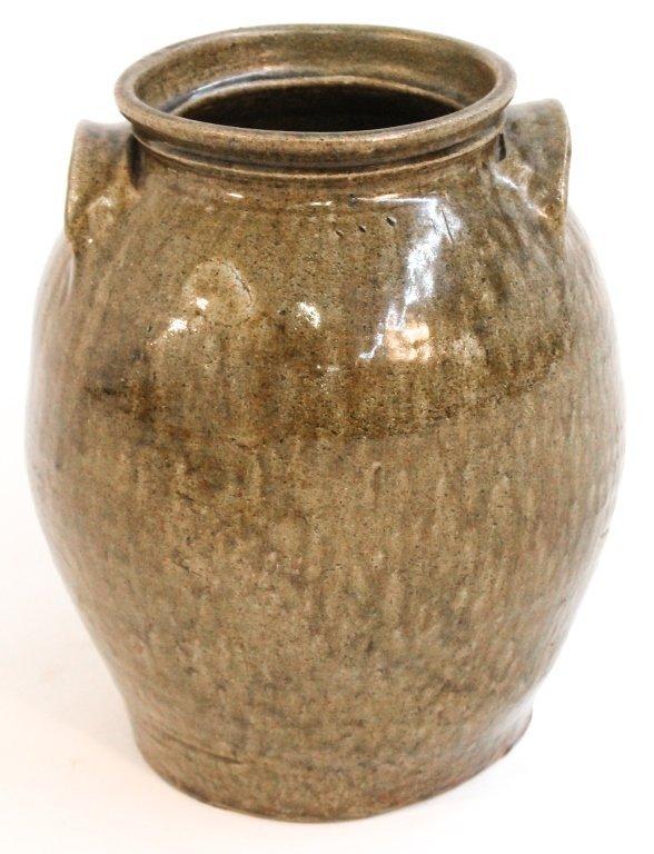 Stoneware storage jar, Edgefield, probably Dave