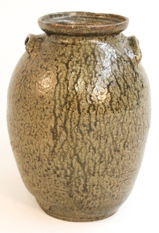 Stoneware storage jar, Edgefield, South Carolina
