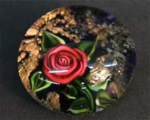 Ray Banford rose paperweight