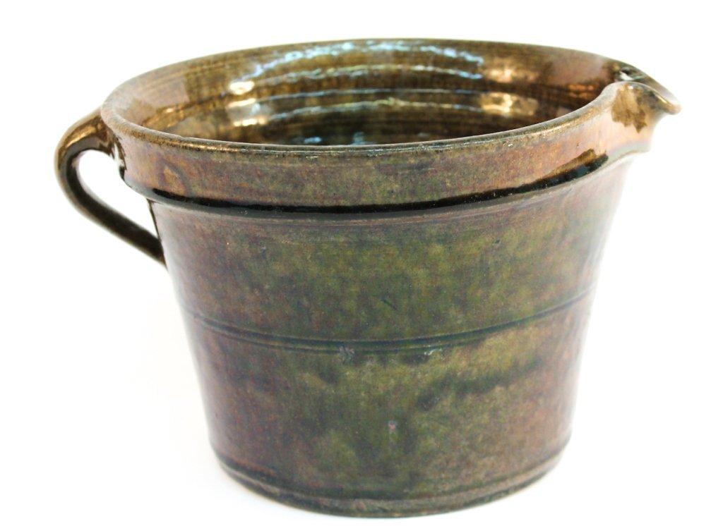 Southern stoneware pitcher, Crawford County, GA