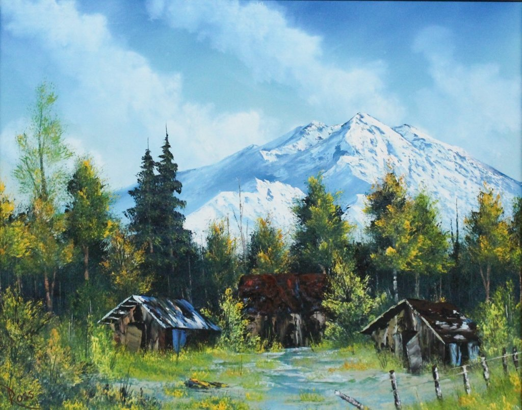 Bob Ross Prices 13 Auction Price Results