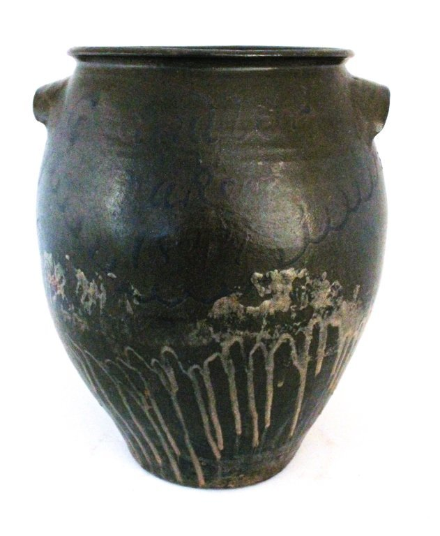 Very rare stoneware jar