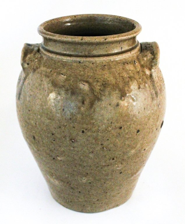 Very fine stoneware storage jar