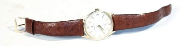 Tiffany 14K men's wristwatch