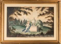 American Memorial Watercolor