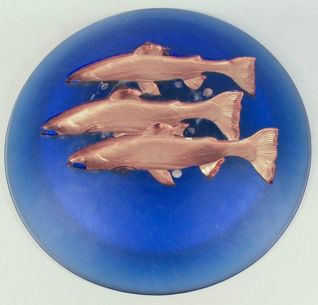 Art Glass Bowl, George Bucquet - 2