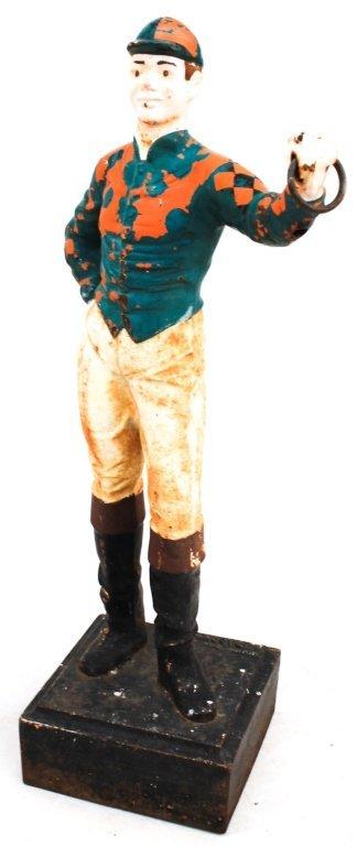 American Cast Iron Lawn Jockey